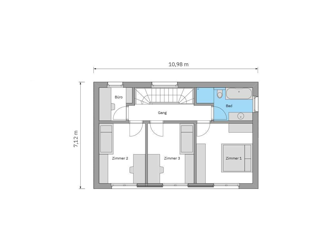 Obergeschoss FH6